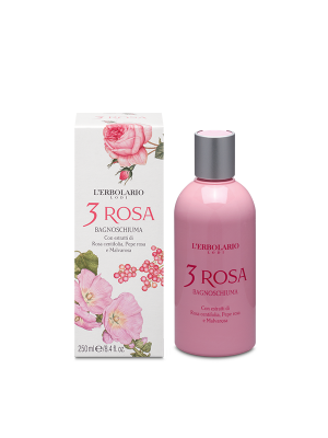 3 ROSA BAGNOSCHIUMA 250ML