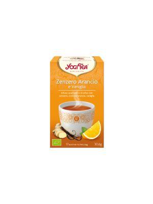 Yogi Tea Zenzero Arancia E Vaniglia Bio
