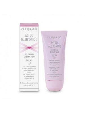 Acido Ialuronico BB Cream Crema Viso – SPF 15