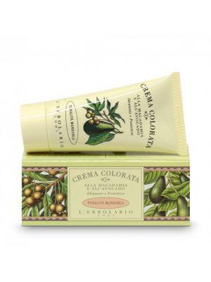 Crema Colorata alla Macadamia e all' Avocado – (nr. 1) tonalità Mandorla