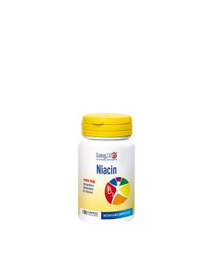 LONGLIFE NIACIN 100MG 100CPR