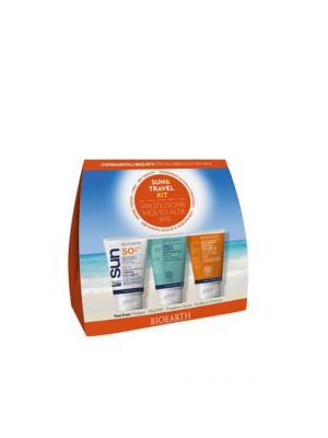 SUN&TRAVEL KIT CR SOL SPF50+