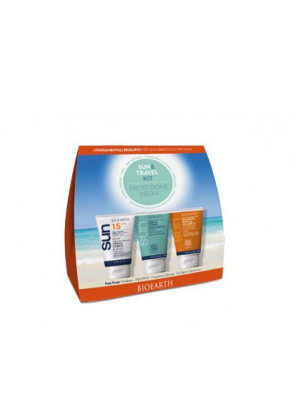 SUN&TRAVEL KIT CR SOL SPF15